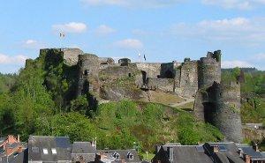 Ruïnes van het feodale kasteel